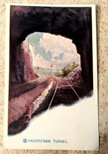 O & W RY Haverstraw Tunnel Postcard