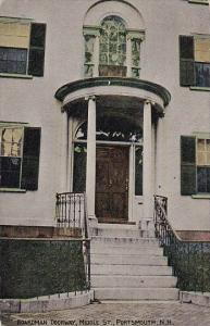 New Hampshire Portmouth Boardman Doorway Dr Mays House Middle Street