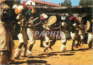 Postcard Modern South Africa (Zulu folk dances) Perible in Southern Africa Fo...