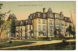 Acadia Seminary , WOLFVILLE , Nova Scotia , Canada , 00-10s