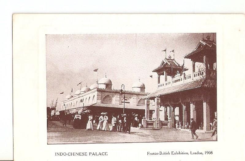 Postal 035981 : Indo-Chinese Palace. Franco-British Exhibition London 1908