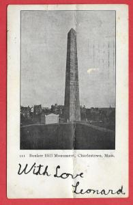 Bunker Hill Monument, Charlestown, Massachusetts