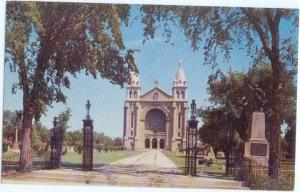 St. Boniface Cathedral near Winnipeg Manitoba Canada MB