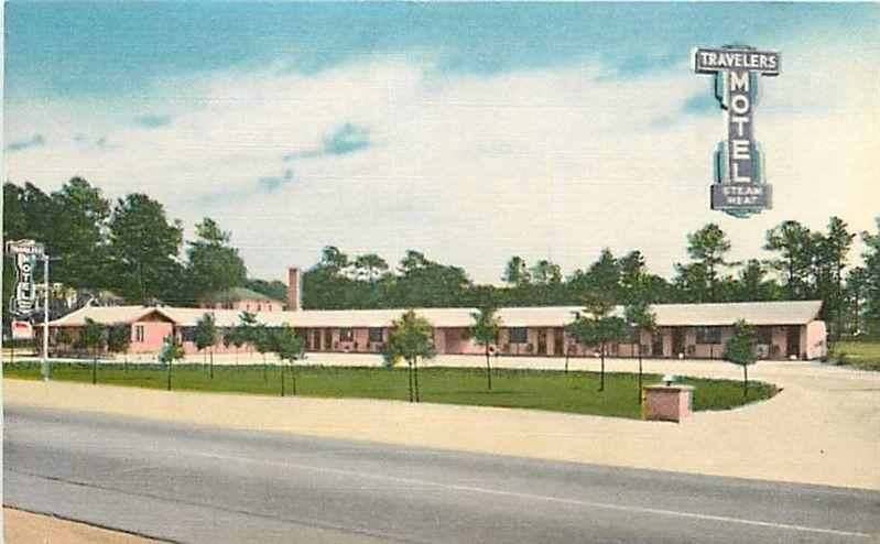 SC, Florence, South Carolina, Travels Motel, E.B. Thomas No. 90061