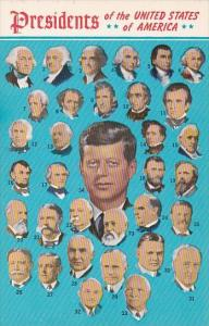 Portraits Of Presidents Of The United States Of America