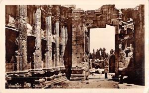 BR49324 Baalbeck le temple de Bacchus    Lebanon