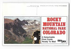 Colorado Rocky Mountain National Park Postcards Mike Roberts