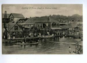 144576 SAINT LUCIA Landing of Prince Albert of Castries Wharf