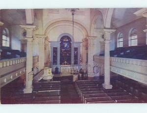 Unused Pre-1980 CHURCH SCENE Philadelphia Pennsylvania PA G3091
