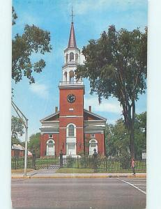 Unused Pre-1980 CHURCH SCENE Burlington Vermont VT L4003