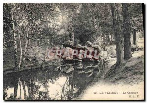 Old Postcard Le Vesinet La Cascade