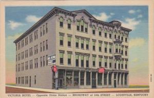 Kentucky Louisville The Victoria Hotel Curteich