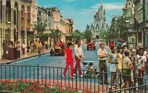 Florida Walt Disney World Main Street U S A 1972