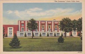 Iowa Cedar Falls The Commons 1943 Curteich