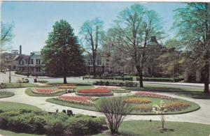 Plymouth Park Tulip Beds - Rochester, New York - pm 1952