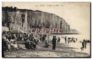 Old Postcard The Ault & # 39heure bath