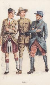 AS: Archie Gunn, Three Pals!, 1900-1910s