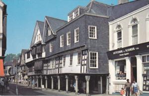 The Butterwalk, Dartmouth, Devon, England, 1940-60s