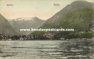 norway norge, BALHOLM, Panorama (1910s)
