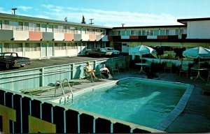 California San Mateo Ranncho Dolores Swimming Pool