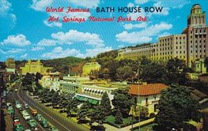 Arkansas Hot Springs National Park Bathhouse Row