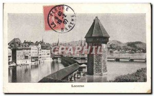 Old Postcard Lucerne