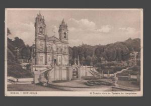 089283 PORTUGAL Braga Bom Jesus Tempio visto do Terreiro de Lo