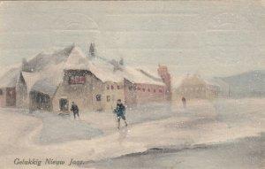 V.K.. VIENNE : 1912 ; Gelukkig Nieuw jaar
