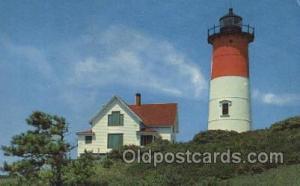 Nauset Light at Eastham on Cape Cod, USA Massachusetts USA, Light House, Hous...