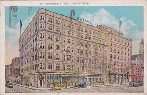 Queen's Hotel, Montreal, Quebec, Canada, PU-1929
