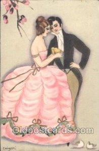 Series 177 Sofia Chiostri, (Fofi) (Italy) Artist Signed postal used unknown c...