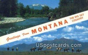 Big Sky Country in Kootanai River, Montana