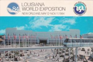 United States Pavilion Louisiana World Exposition 1984 BNew Orleans Louisiana