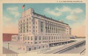 ATLANTA , Georgia , 30-40s ; U. S. Post Office