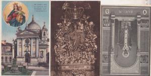 Sanctuario Del L'Ausiliatrice Holy Mary Vierge La Torino 24 Maggio 3x Postcard s