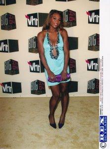Serena Williams at the VH1 Music Awards Los Angeles 2004 Tennis Press Photo