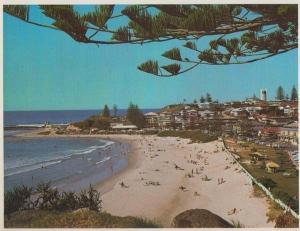 Rainbow Bay Coolangatta Queensland Gold Coast Australia Postcard