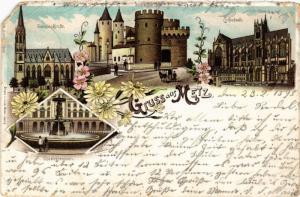 CPA Gruss aus Metz (474367)