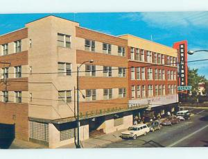 Unused Pre-1980 HOTEL SCENE Medicine Hat Alberta AB B0720