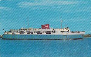 M.V. BLUENOSE , Yarmouth , Nova Scotia , Canada to Bar Harbor Maine , 40-60s