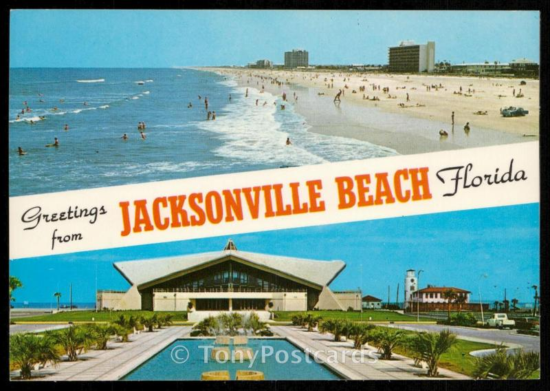 Greetings from Jacksonville Beach
