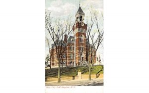 City Hall Kingston, New York Postcard