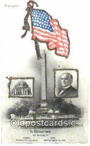 In Memorian William Mckinley Political Postcard Postcards  William McKinley