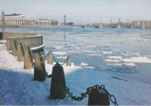 View Of The Spit Of Vasilyevsky Island, LENINGRAD, Russia, 1986