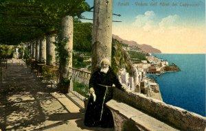 Italy - Amalfi. Scene from Hotel dei Cappuccini
