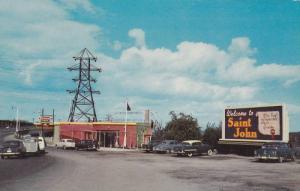 Reversing Falls Travel Bureau, Saint John & Lancaster , New Brunswick , Canad...