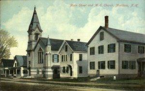 Marlboro NH Main St. Church c1910 Postcard