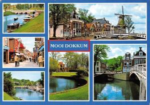 Netherlands Mooi Dokkum multiviews 1983