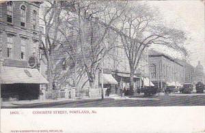 Maine Portland Congress Street