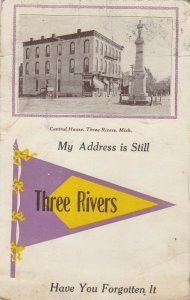 THREE RIVERS , Michigan, 1916 ; Central House